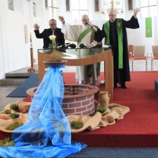 Oecumenische viering in Bodegraven