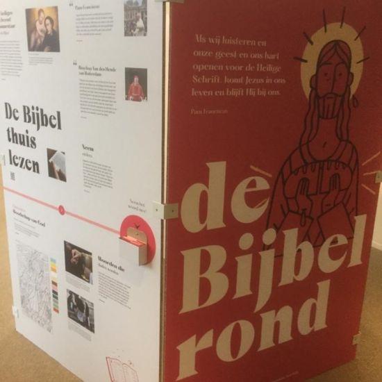 """Pop-up tentoonstelling """"de Bijbel rond"""" in Gouda en Boskoop"""