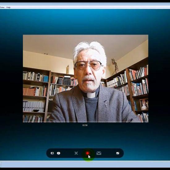 Skype meeting met pastor Huub Flohr