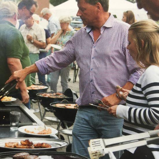 Protestants Nieuwerkerk start nieuwe seizoen met een Startweekendbarbecue