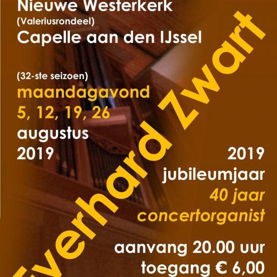 Orgelconcerten Everhard Zwart