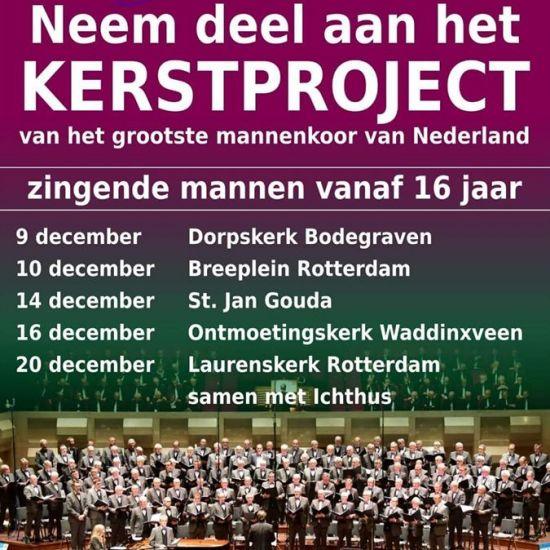 Kerst met De Gouwestem in Waddinxveen
