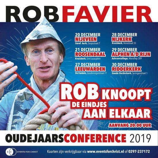 Oudejaarsconference met Rob Favier