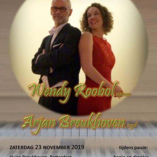 Huiskamerconcert Arjan Breukhoven