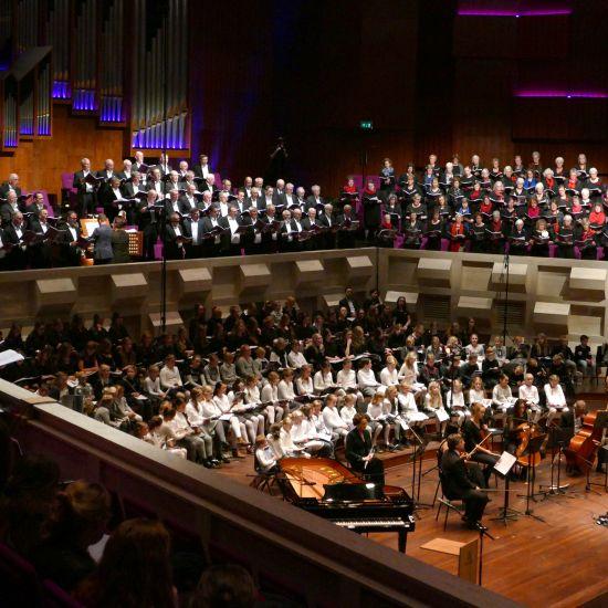 Eindejaar concert met Het Groot Reformatiekoor, Groot Nederlands Mannenkoor & Groot Nederlands Kinderkoor & Jong Mannenkoor Salomo