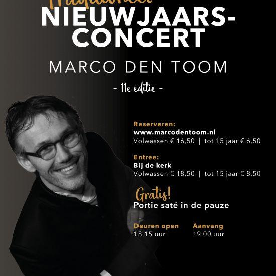 Nieuwjaarconcert Marco den Toom