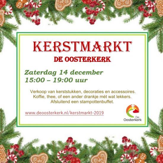 De Oosterkerk kerstmarkt 2019