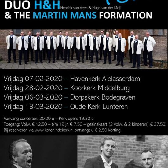 Concert The Martin Mans Formation