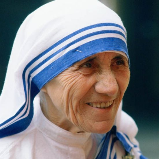 Expositie moeder Teresa van Calcutta