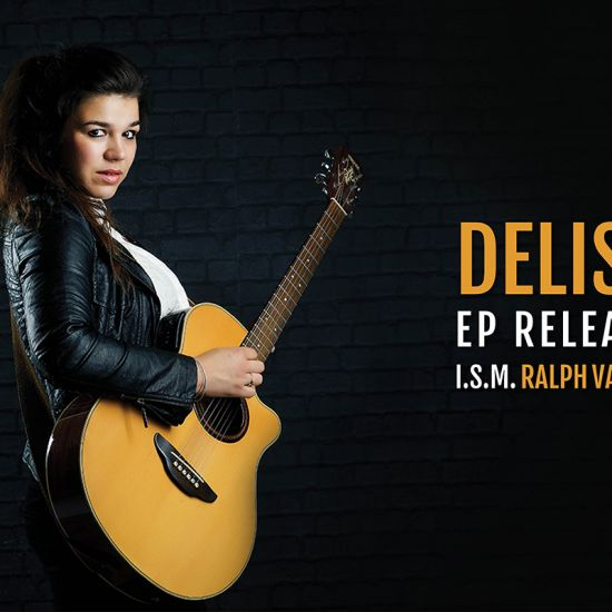 AFGELAST Delise: EP-release concert