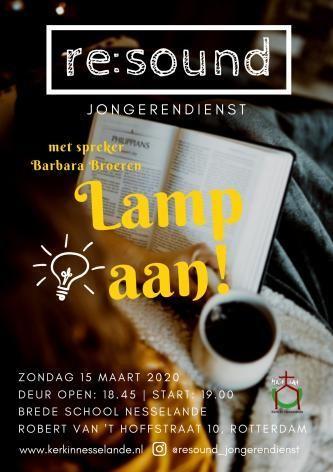 AFGELAST RE:Sound 'Lamp aan!'