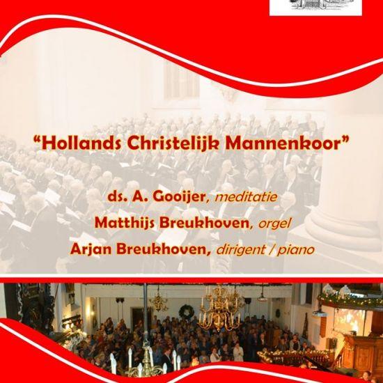 AFEGELAST Songs of Praise-dienst met Hollands Christelijk Mannenkoor