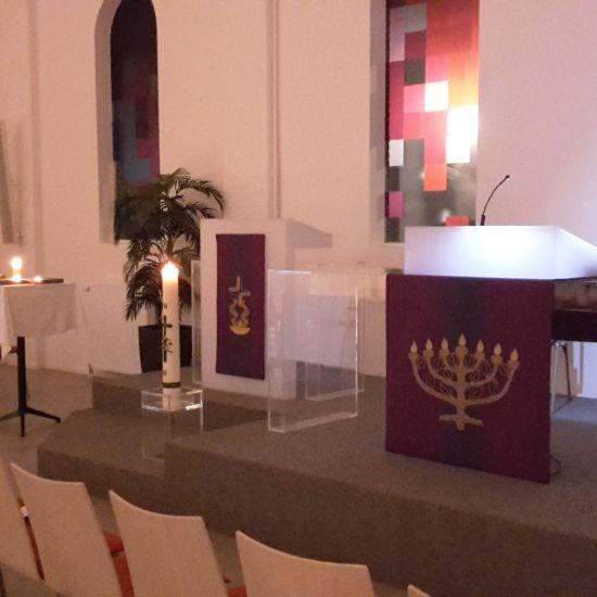 Avondgebed in de Ringvaartkerk