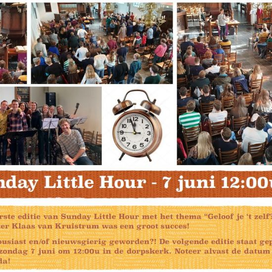 Sunday Little Hour – Try Out 18+