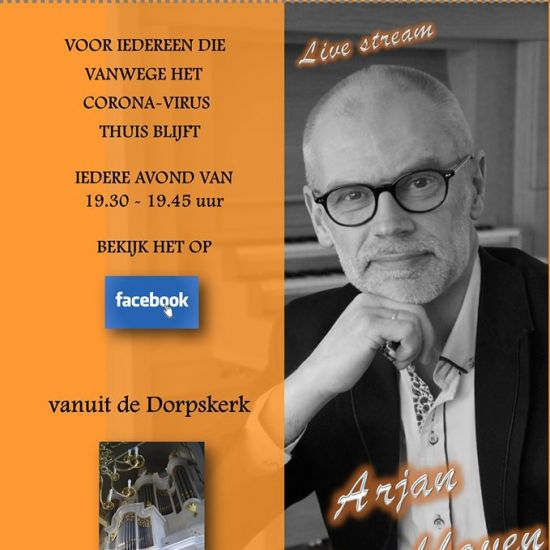 Arjan Breukhoven en Martin Mans spelen live op Facebook