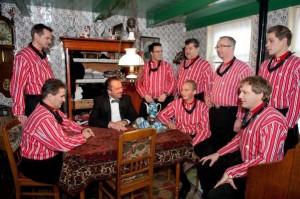 Livestream met de Urker Mans Formatie en Hendrik van Veen.