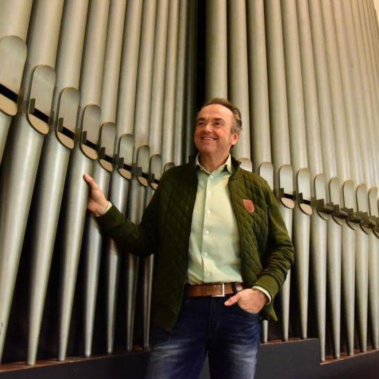 Martin Mans live vanuit de Breepleinkerk in Rotterdam