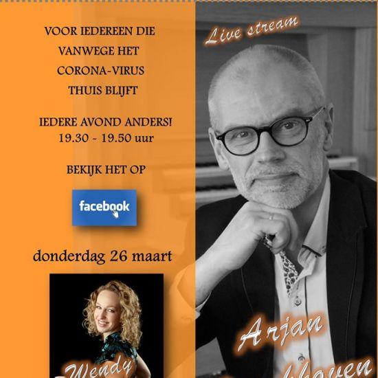 #LiveFacebookConcert Arjan Breukhoven