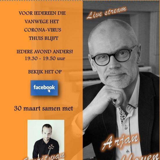 18de #LiveFacebookConcert met Arjan Breukhoven