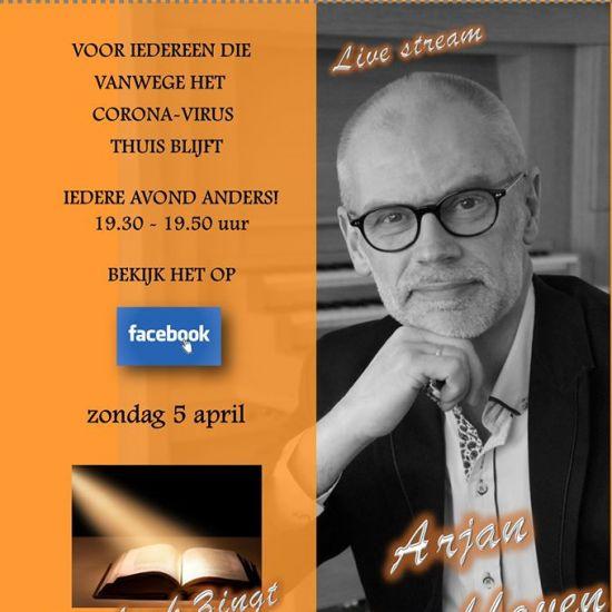 Livestream met Arjan Breukhoven 'Palmpasen'