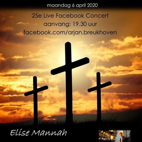 #LiveFacebookConcert met Arjan Breukhoven en Elise Mannah