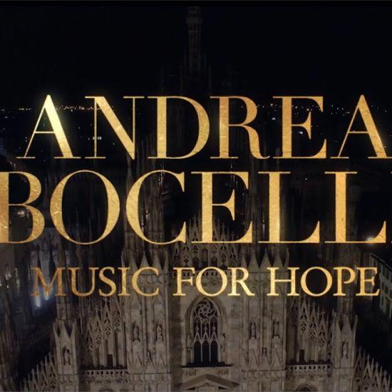Andrea Bocelli live vanuit de Dom van Milaan