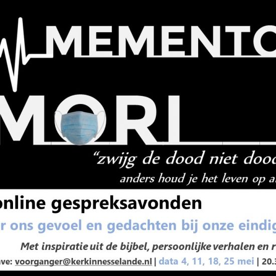 Memento Mori met ds. Marien Kollenstaart