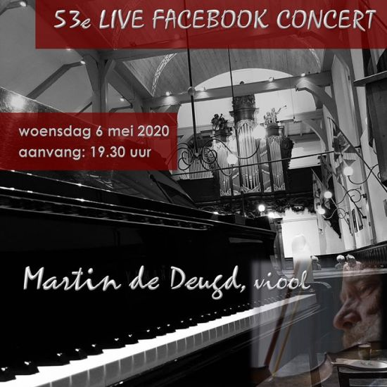 53e #LiveFacebookConcert Arjan Breukhoven