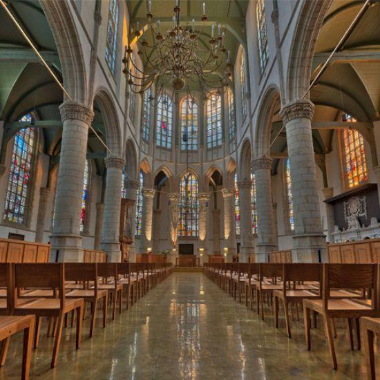 Goudse organisten concerteren gedurende de dag
