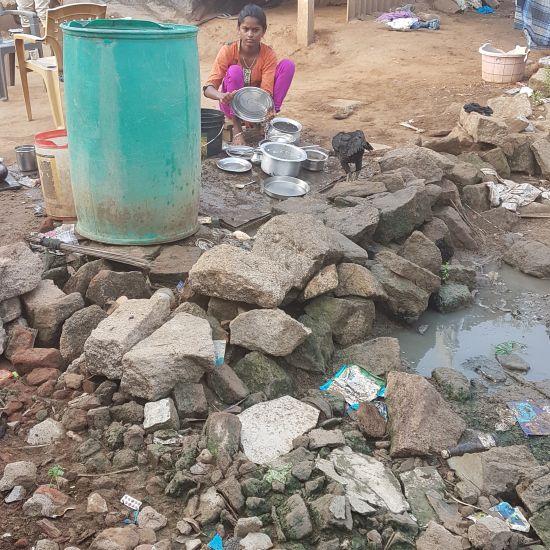 """Waterput voor """"childrens home Febe"""" in Zuidoost India"""