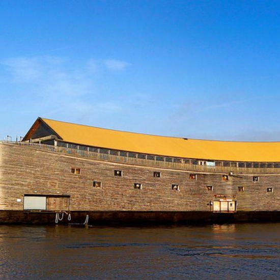 De Ark opnieuw verhuist