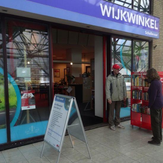 In Wijkwinkel Schollevaar is alle hulp gratis