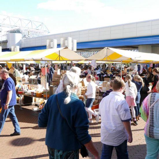 Capelse rommelmarkt niet los te zien van voedselbank.