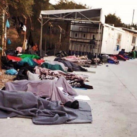 Problemen op Lesbos stapelen zich op