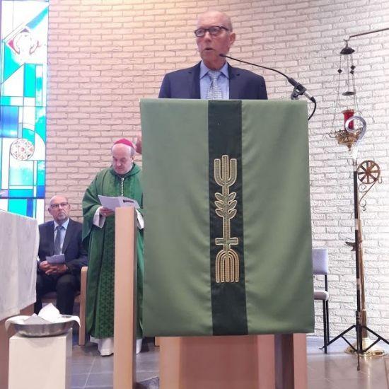 Bisschop Van den Hende gaat voor bij Oogstdankdag 2