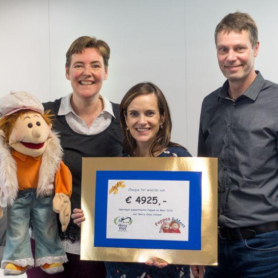 Poppenenmeer schenkt Mercy Ships € 4925,-
