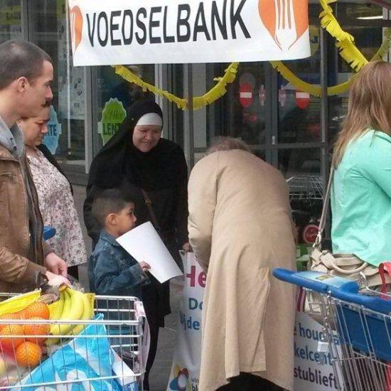 Inzameling voedselbank Gouda