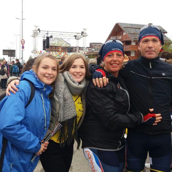Moordrechts gezin verzekerd deelname Alpe d'HuZes 2020