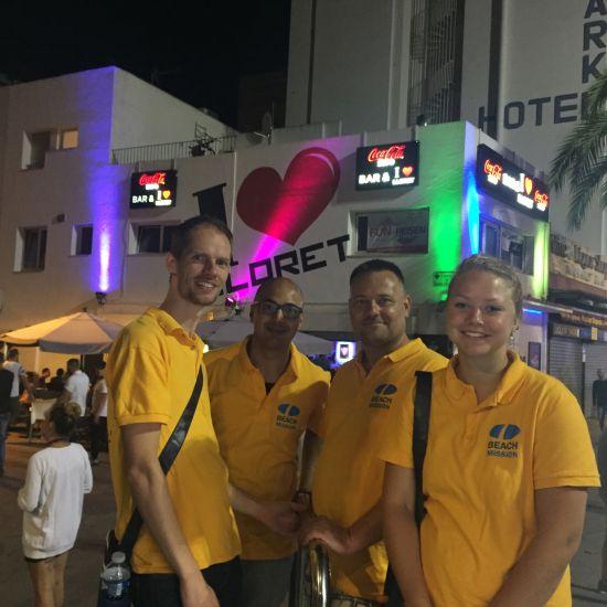 Beach Mission schuift evangelisatie reizen op