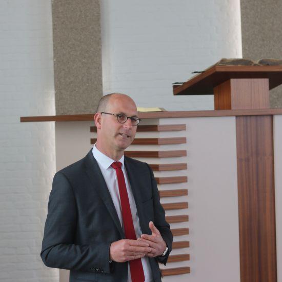 Kennismakingsvideo ds. J. Sparreboom vanuit de Nieuwe Kerk