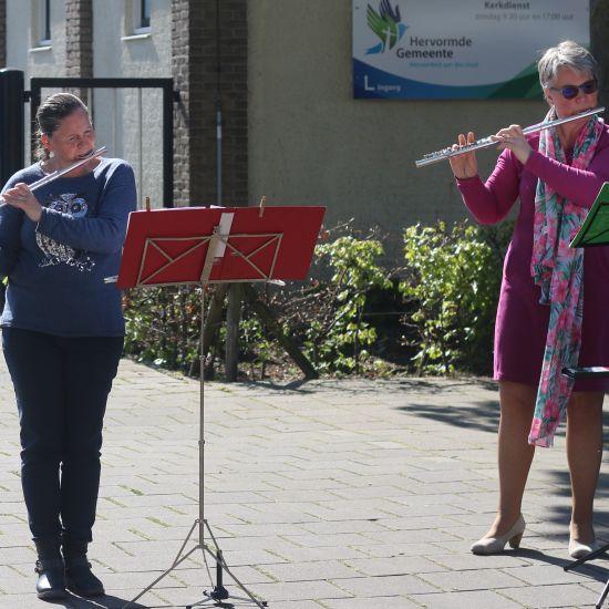 Ouderen krijgen muzikale boodschap