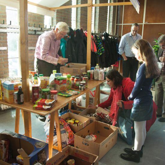 Kerken helpen de Voedselbank