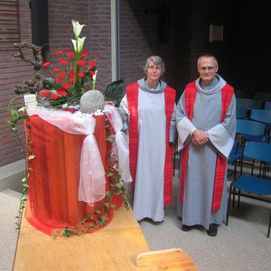 Peter Treep en Rianne van Halsema 35 jaar in het ambt