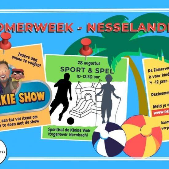Aangepaste Zomerweek in Nesselande