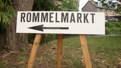 Rommelmarkt Zevenhuizen alleen op afspraak geopend.