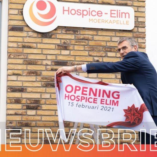 Hospice Elim officieel geopend